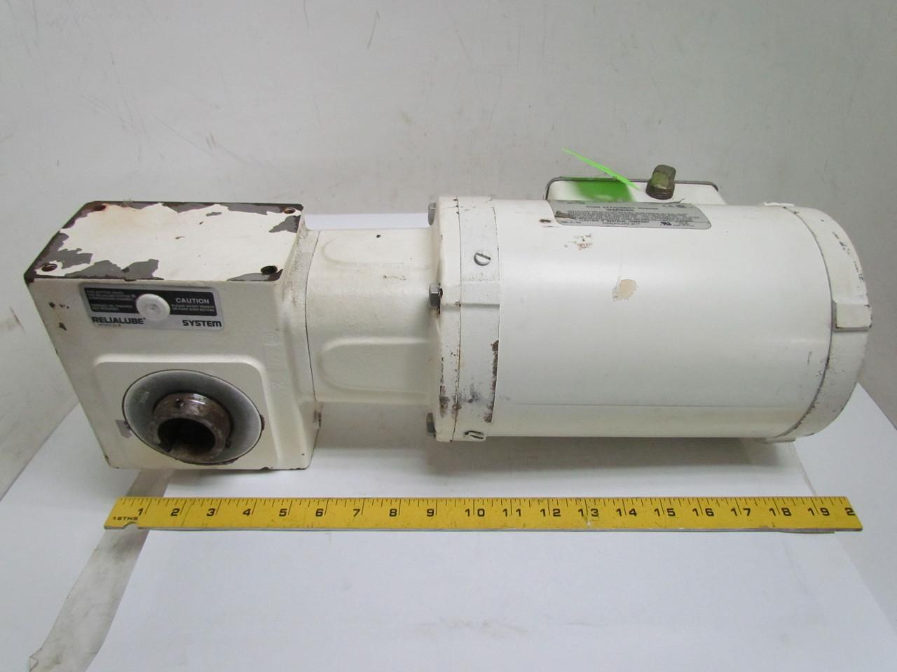 Dodge Reliance Gearbox Speed Reducer 20 1 Ratio 56c 3ph