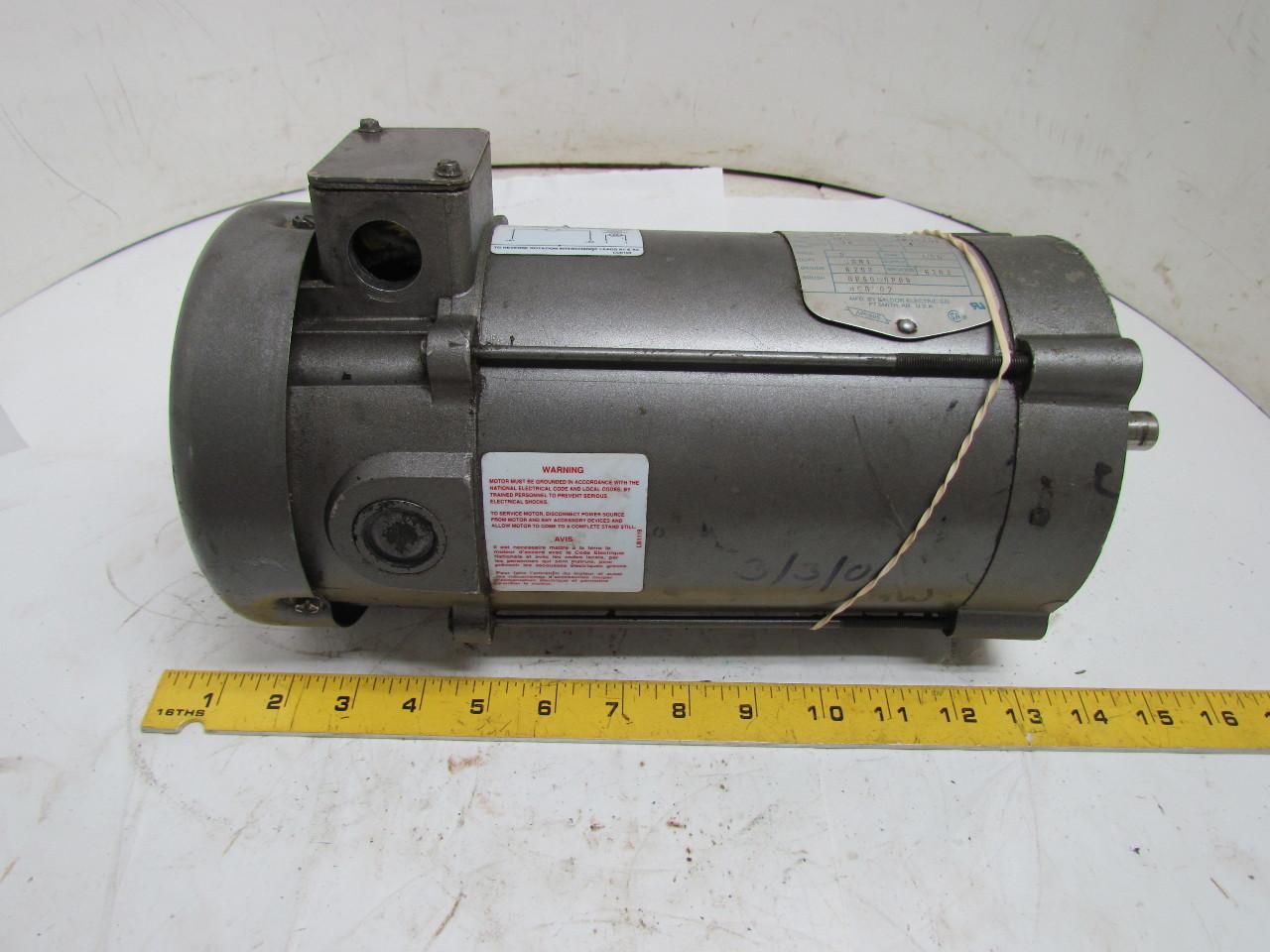 Emerson 34 6220 3674 1 2 Hp Dc Motor 90v 1750 Rpm 56c