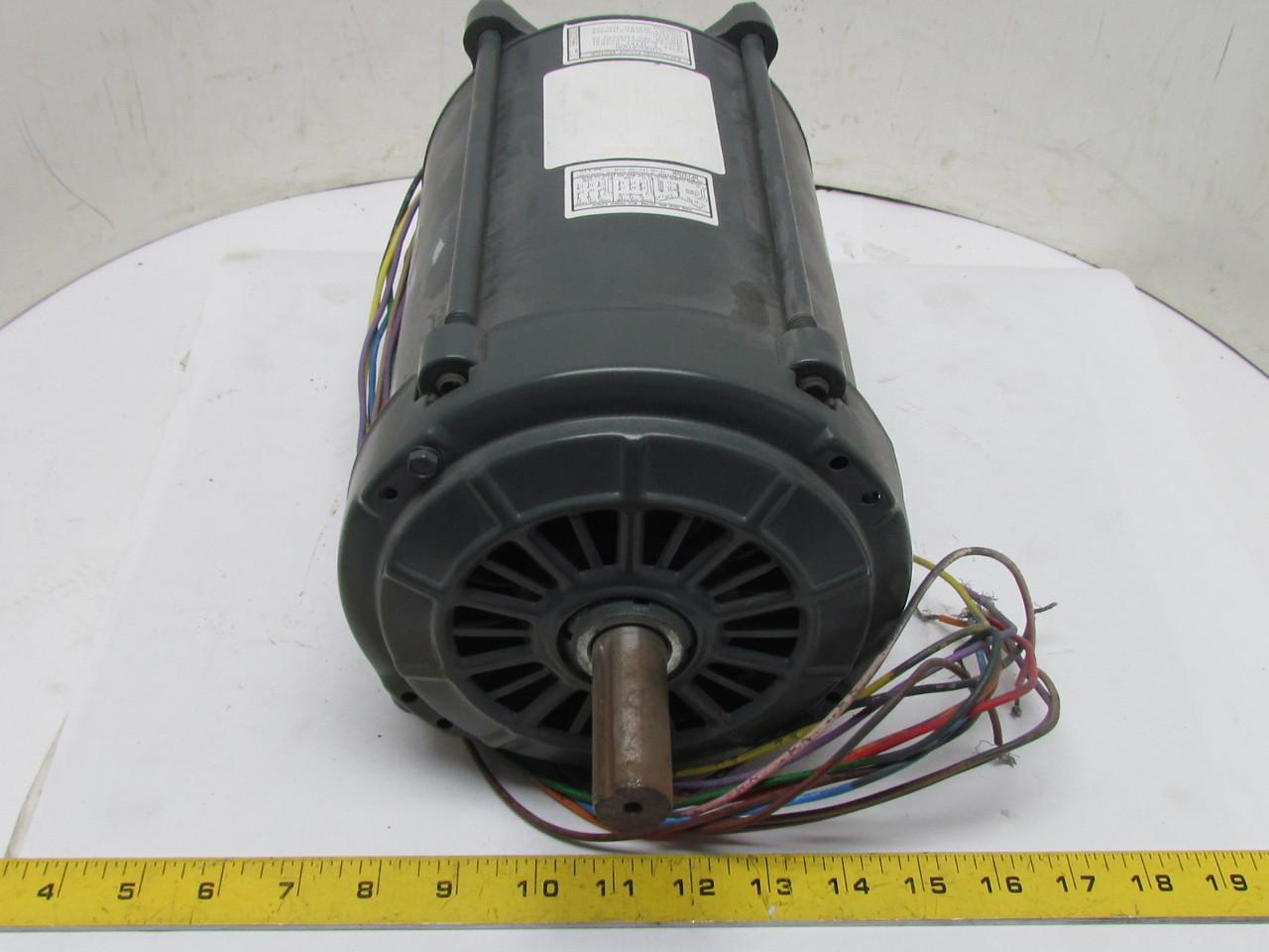 Ge General Electric Motor 2 Hp 1725 Rpm 3ph 230 460v 145t