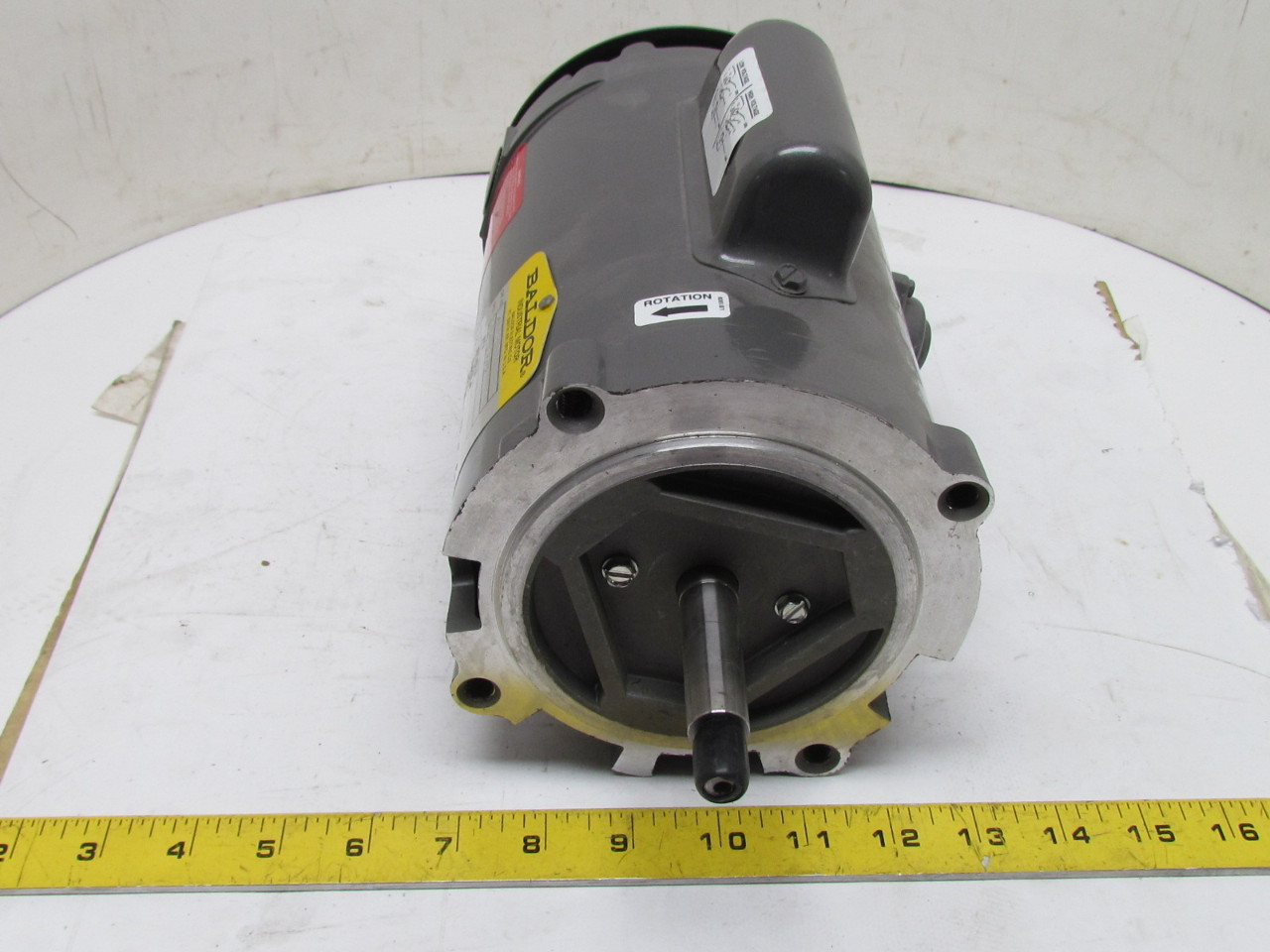 Boston Gear Acutf B Electric Motor 1 6 H 1725 Rpm 3 Ph