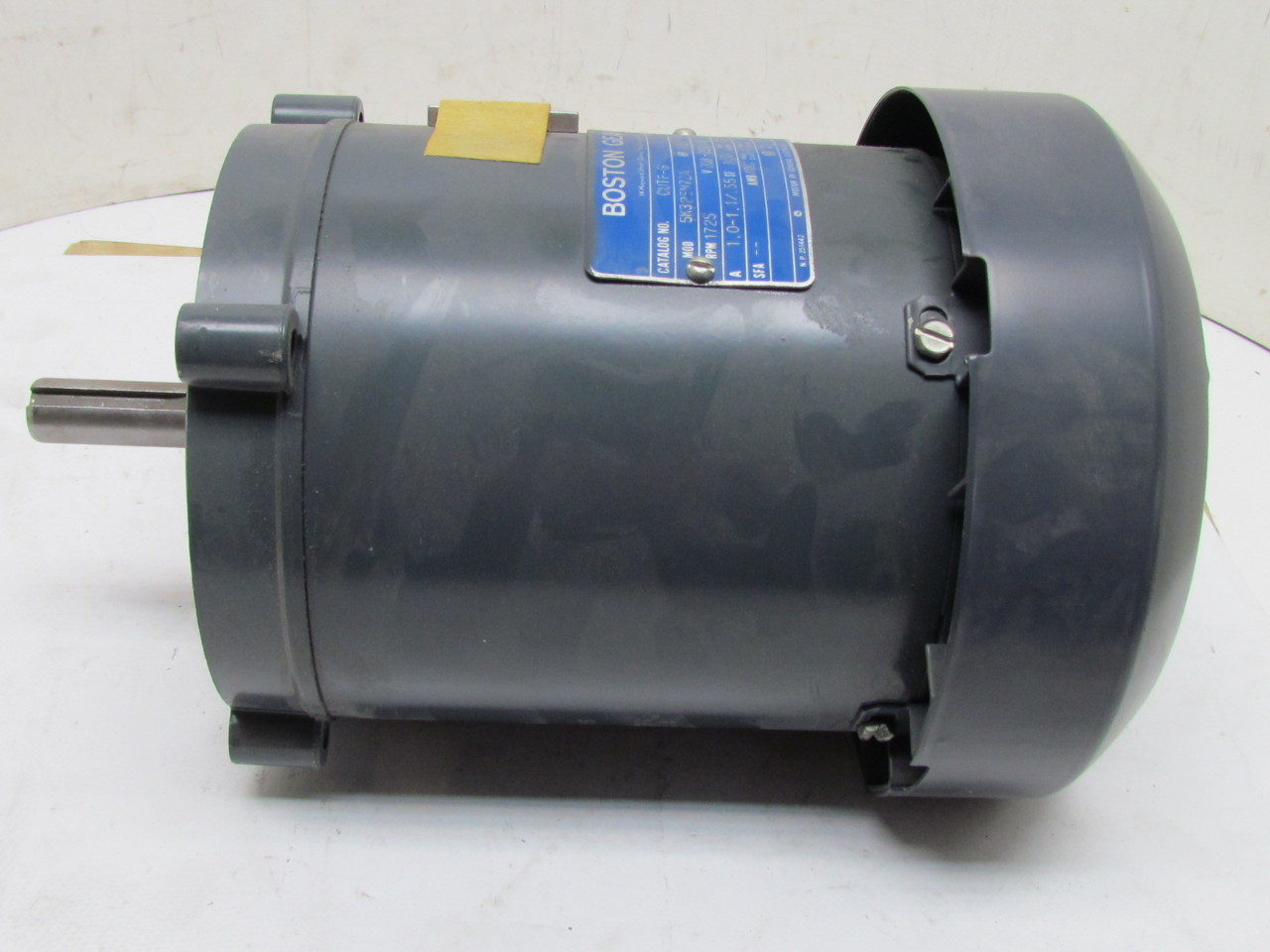Boston gear 5k32en72a electric motor 1 6 hp 1725 rpm 3 ph for 1 hp electric motor 1725 rpm