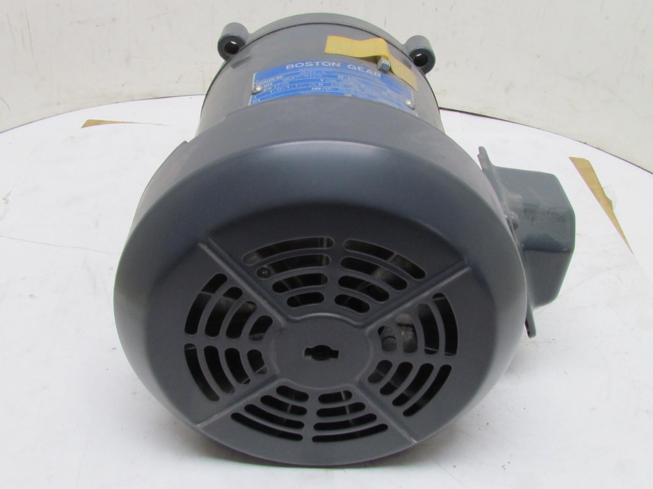 Boston gear 5k32en72a electric motor 1 6 hp 1725 rpm 3 ph for 1 rpm electric motor