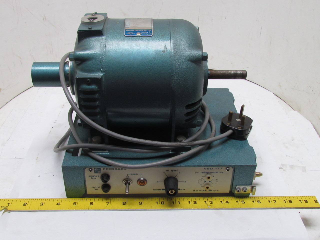 Fb Vsd 177 Variable Speed Frequency Drive Motor 3000 Rpm Shunt Type Ebay