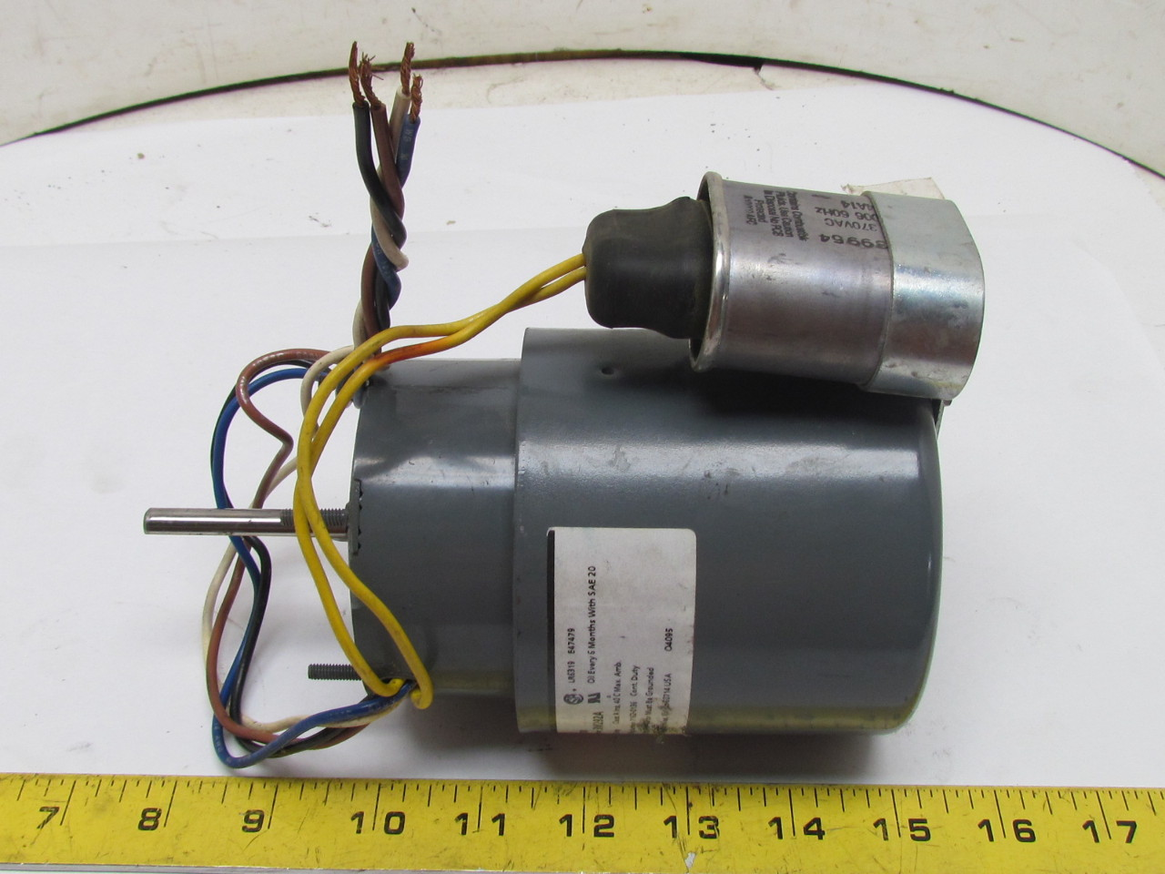 Dayton 3m292a hvac fan blower psc motor 1 8hp 3000 rpm for 1 3 hp psc motor