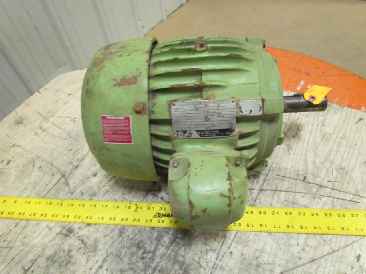 Us electrical u06 u1610452 gt 01 7 5 hp 3 phase motor 230 for 7 5 hp three phase motor