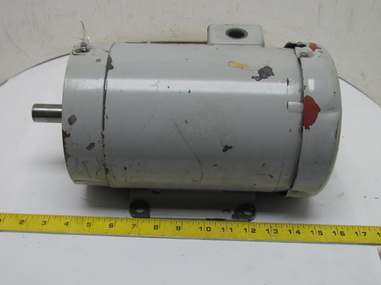 Baldor M16b 90503606 3 Phase Ac Electric Motor 1hp 1450