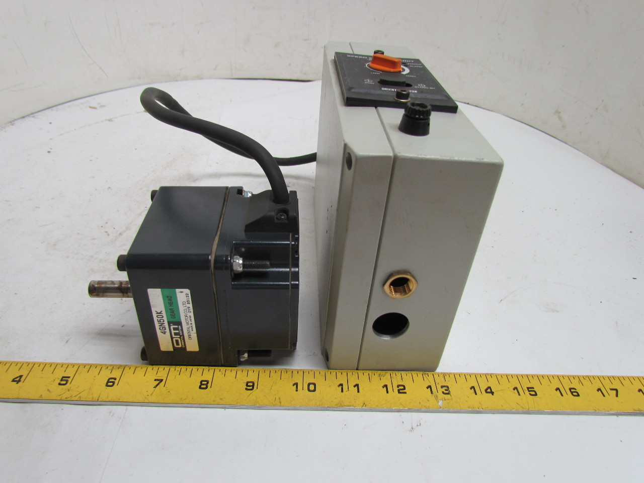 Oriental axud25cy brushless dc motor speed control 4gn50k for Brushless dc motor speed control