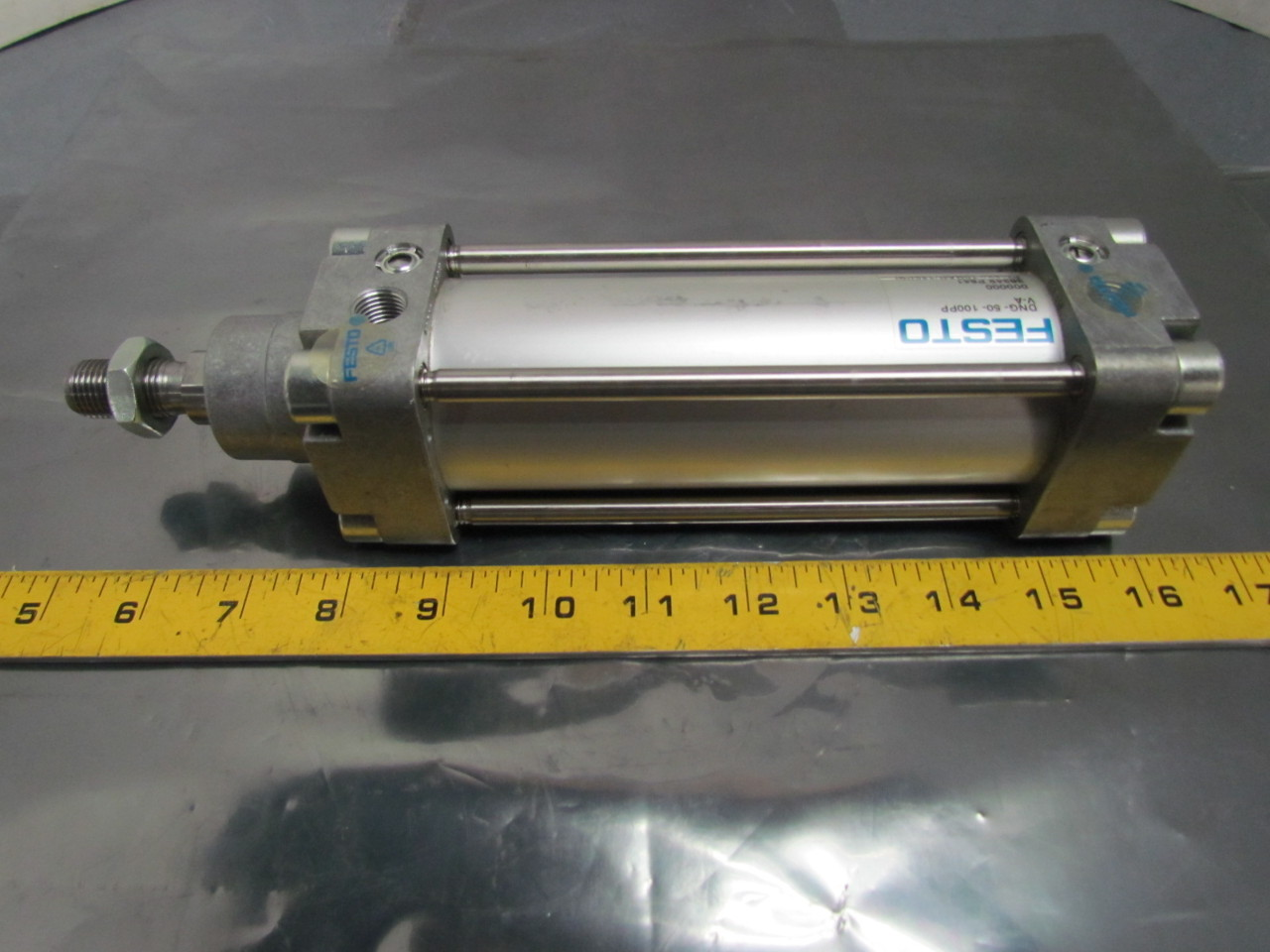 Festo Dng 50 100ppv A Pneumatic Air Cylinder 50mm Bore