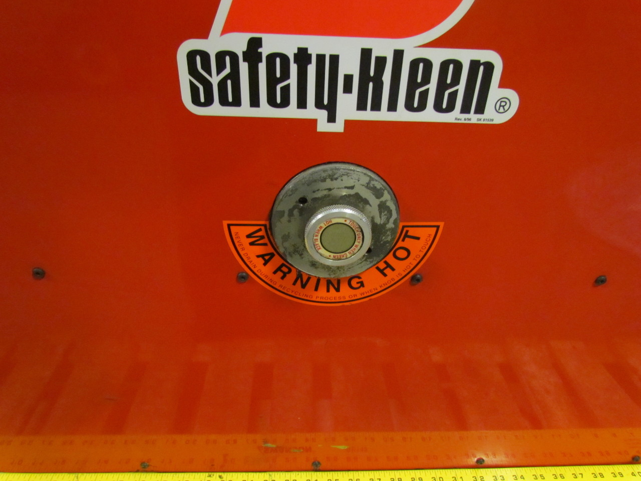 safety kleen model 250 parts washer manual