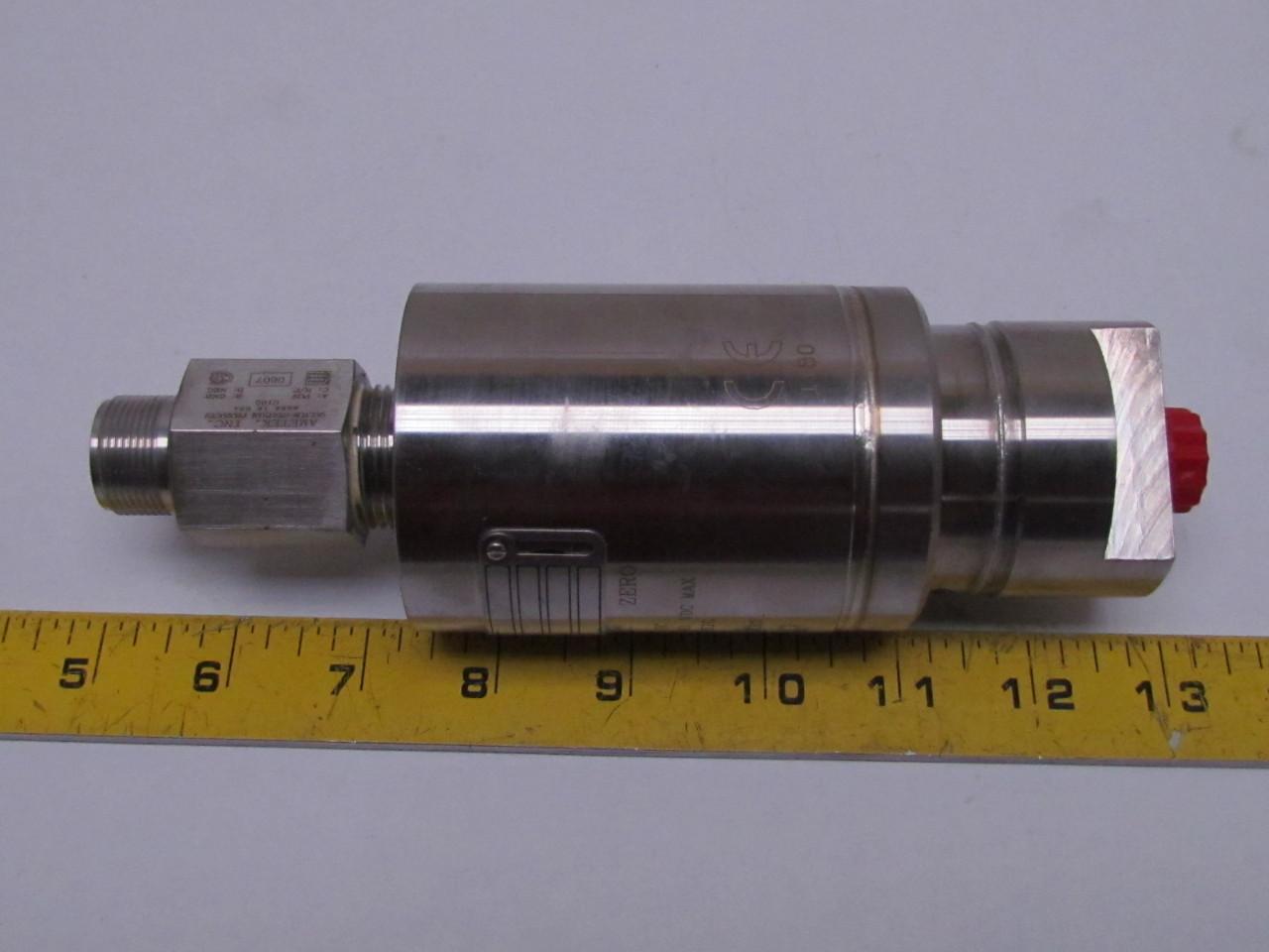 Ametek Pg3000 100 48 12 08 10 00 Stainless Steel Pressure