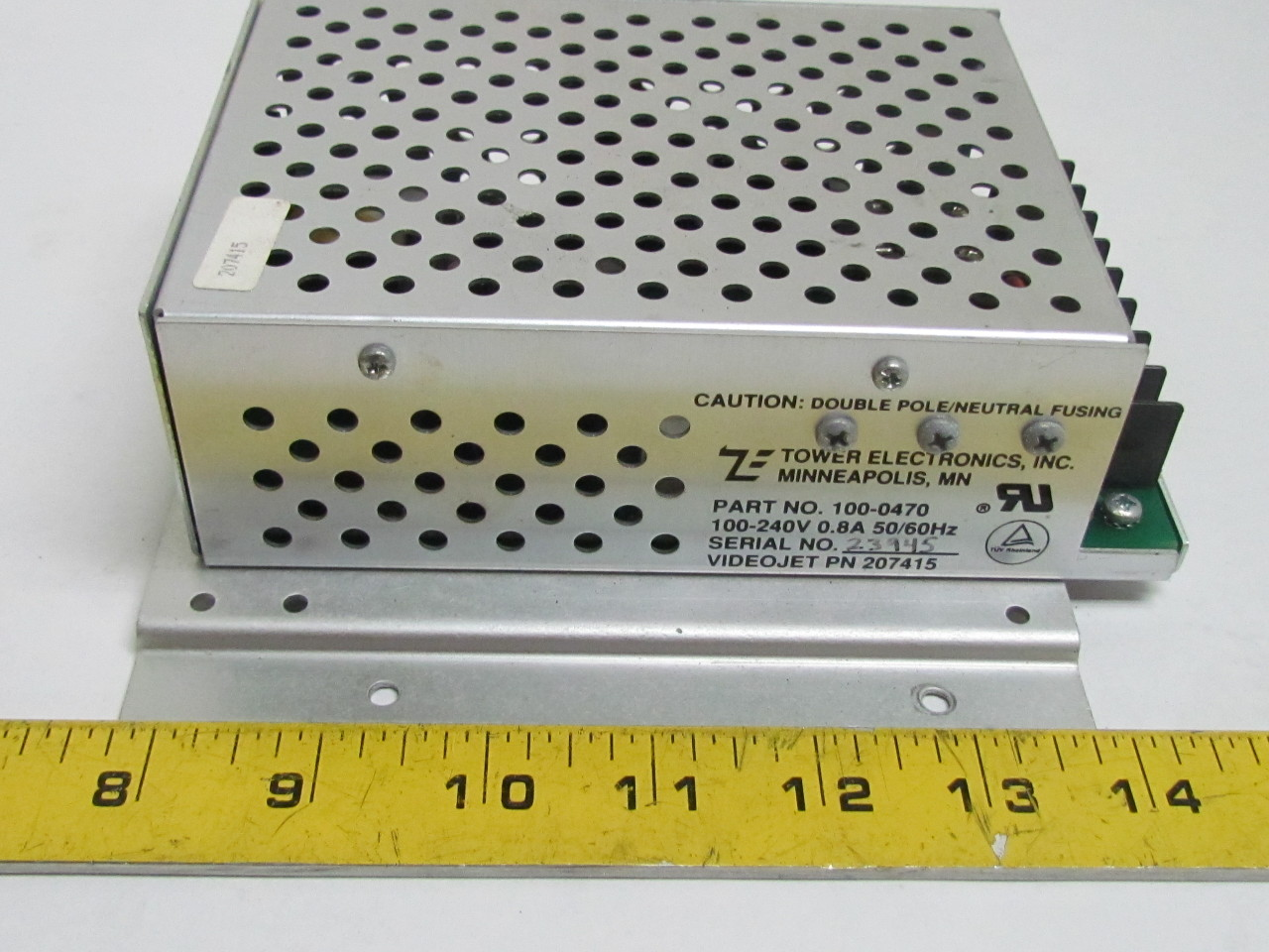 Electronic Equipment Supplies Amp Services : Tower electronics  power supply v