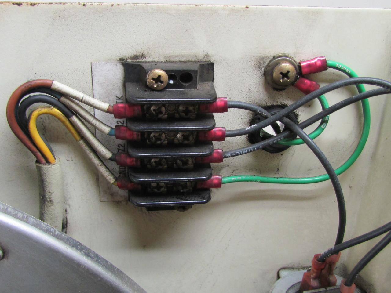 Reliance Electric Rh35m 4ek 4f 1r Motorized Impeller Fan Blower Backward Incline Ebay