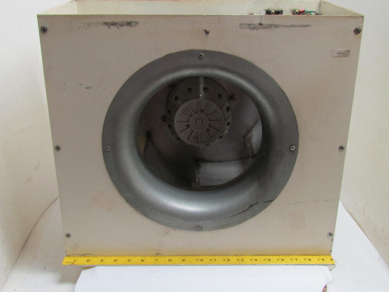 Reliance Electric Rh35m 4ek 4f 1r Motorized Impeller Fan