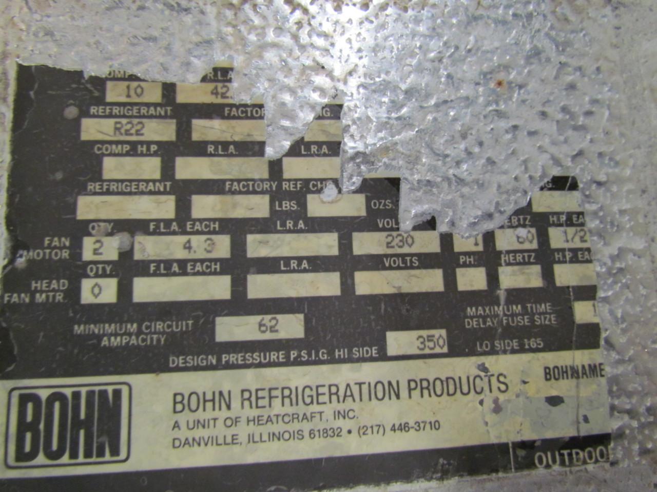 Gemütlich Bohn Heatcraft Schaltplan Bilder - Elektrische Schaltplan ...