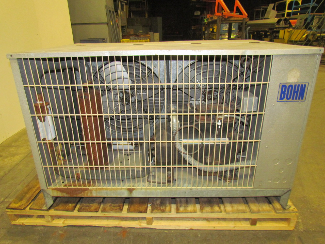 Outdoor Air Cooled Condensing Unit 208 230V 3PH 2 Cooling Fan eBay #A48827