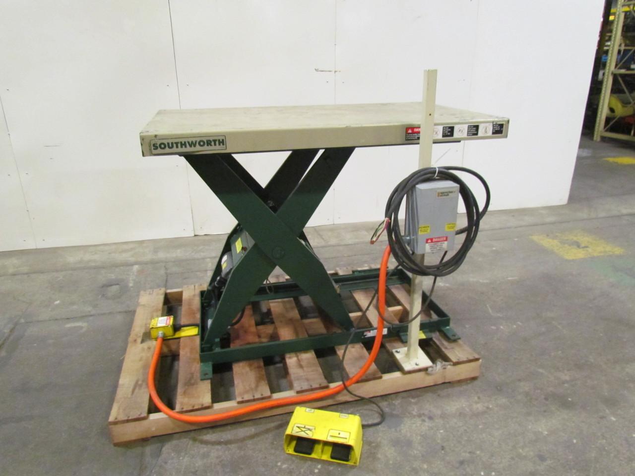 Hydraulic Scissor Lift Table 32x56 Quot 7 42 Quot Lift 2000lb 1 Ton