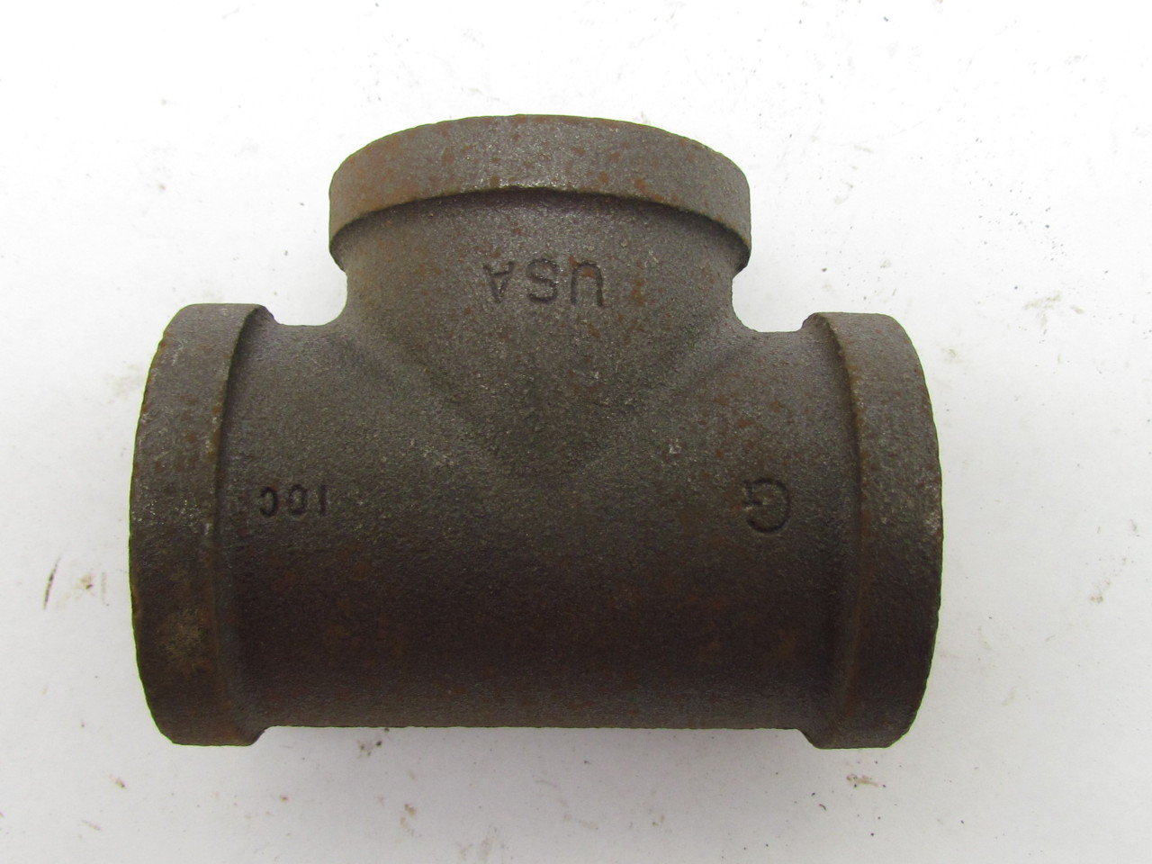 Grinnell quot npt malleable iron tee pipe fitting class