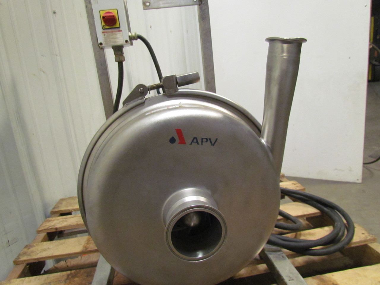 Apv Wt80 80 Stainless Steel Sanitary Centrifugal Pump 10hp
