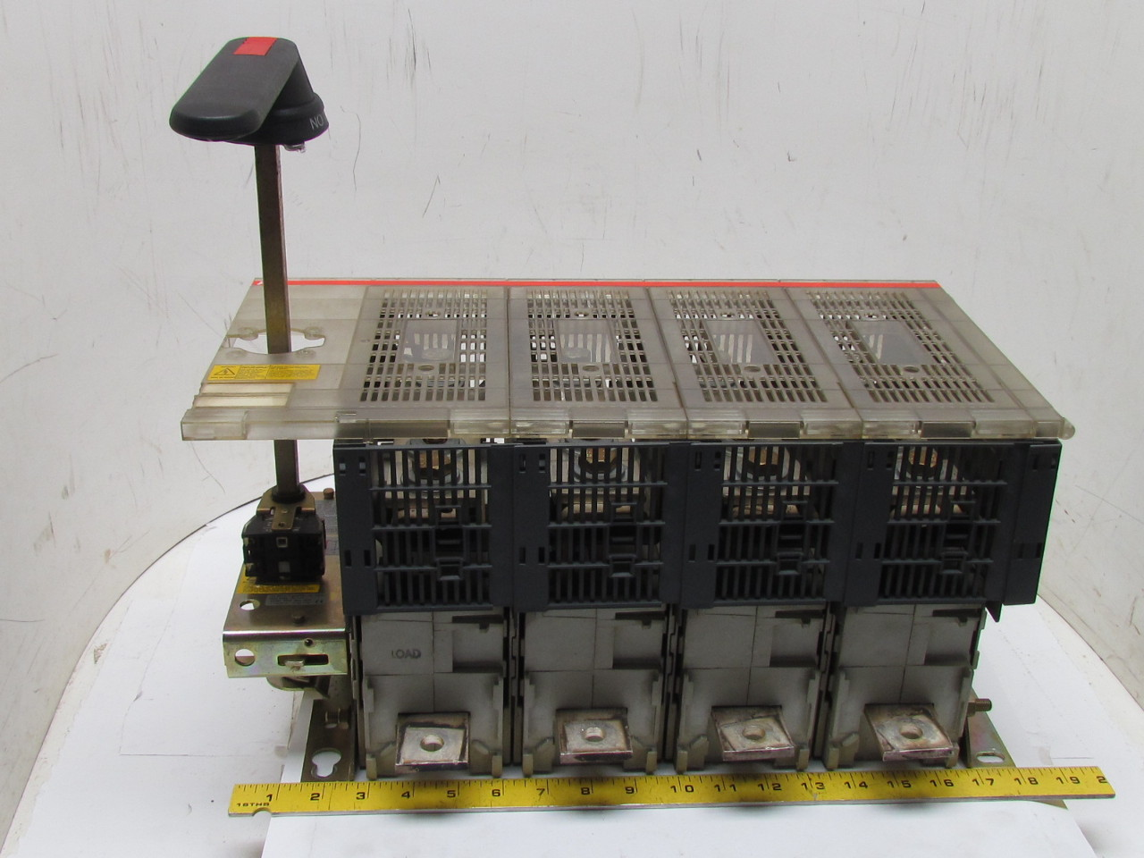 Abb 4 pole fusible disconnect switch interrupter rotary for Class 1 div 2 motor disconnect switch