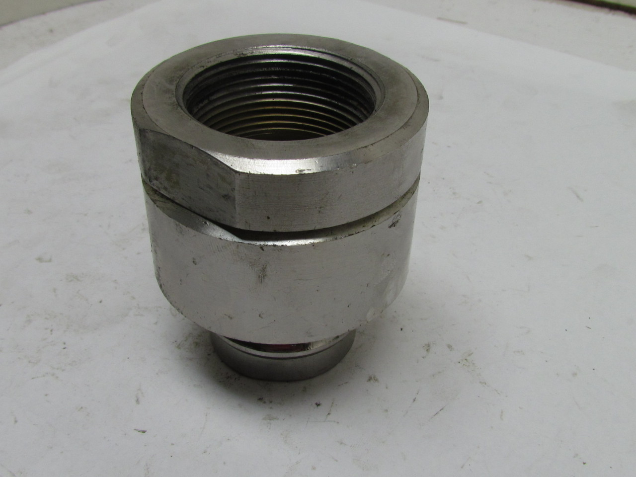 Stainless Steel Coupler : Svhn quot female npt hydraulic quick coupler hose