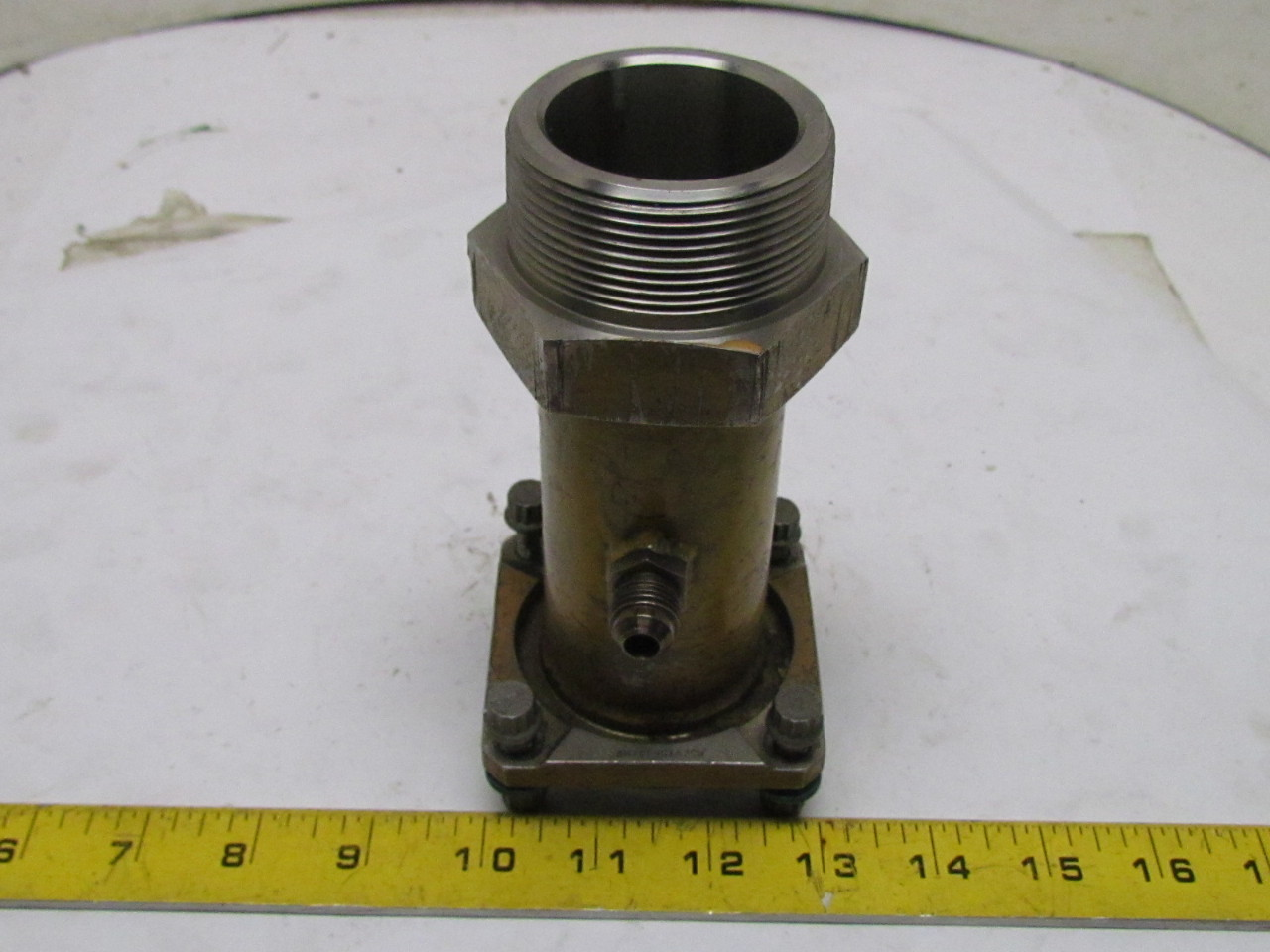 Quot npt od flange stainless steel pipe fitting