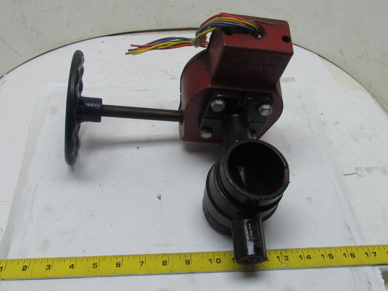 Gd 4765 8n 2 1 2 grooved type butterfly valve manual for Motor operated butterfly valve