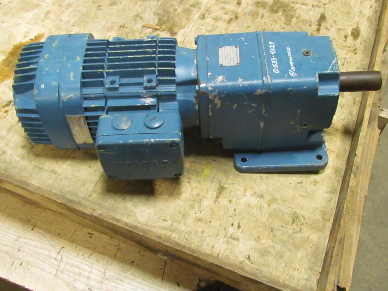 Mannesmann Demag D06 B 3 0 3 3ph Electric Motor W Brake