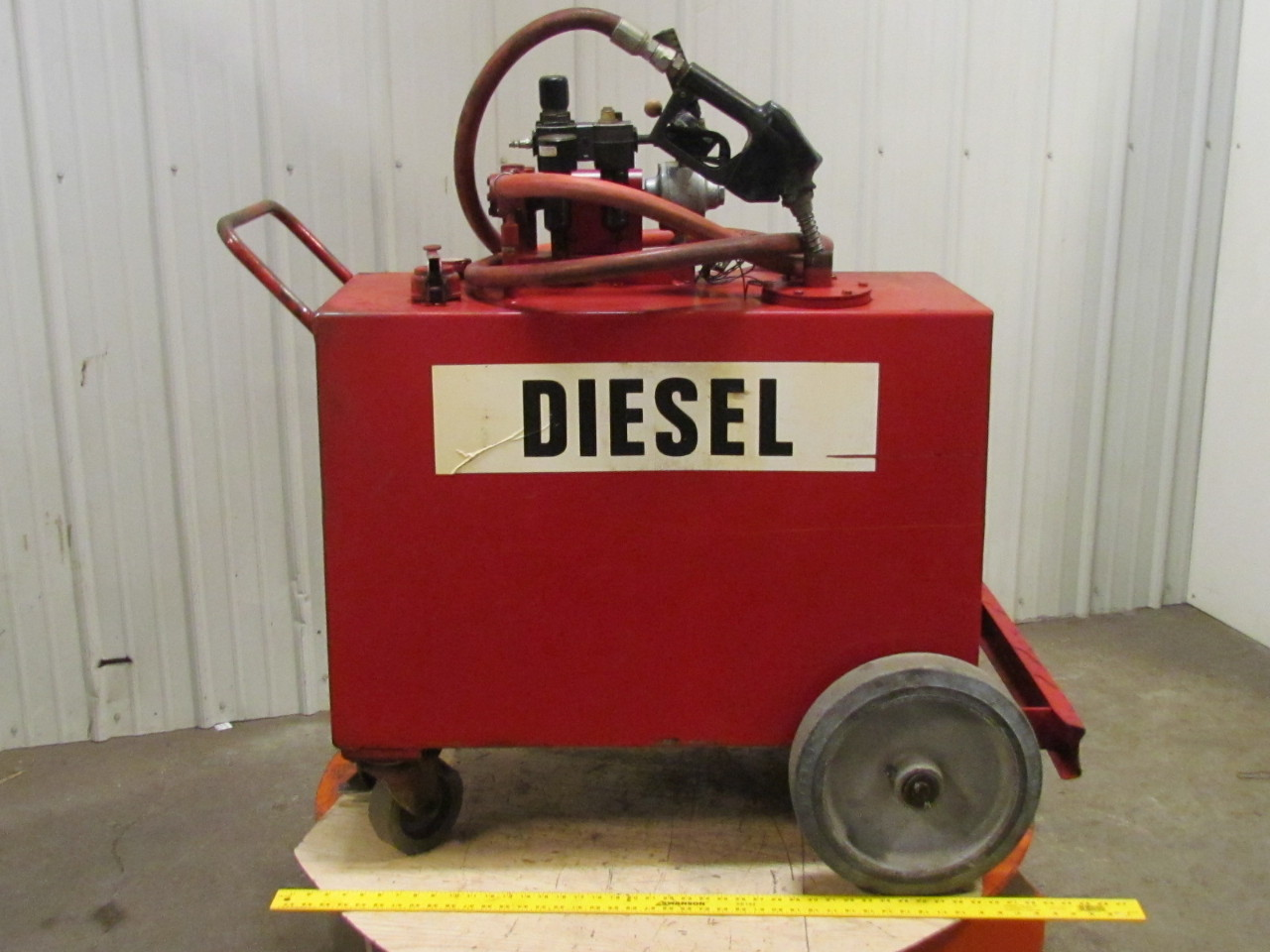 how to clean old diesel fuel