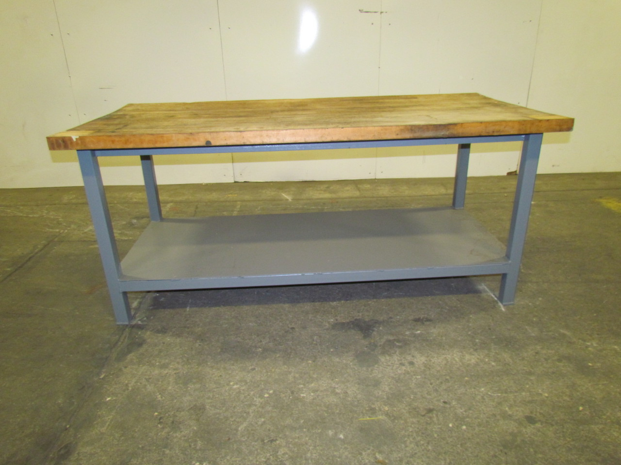 how to build a butcher block workbench