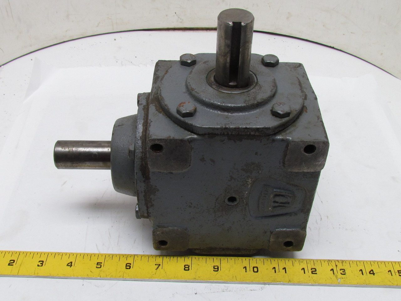 Hub City 150 Right Angle Bevel Gear Drive Speed Reducer