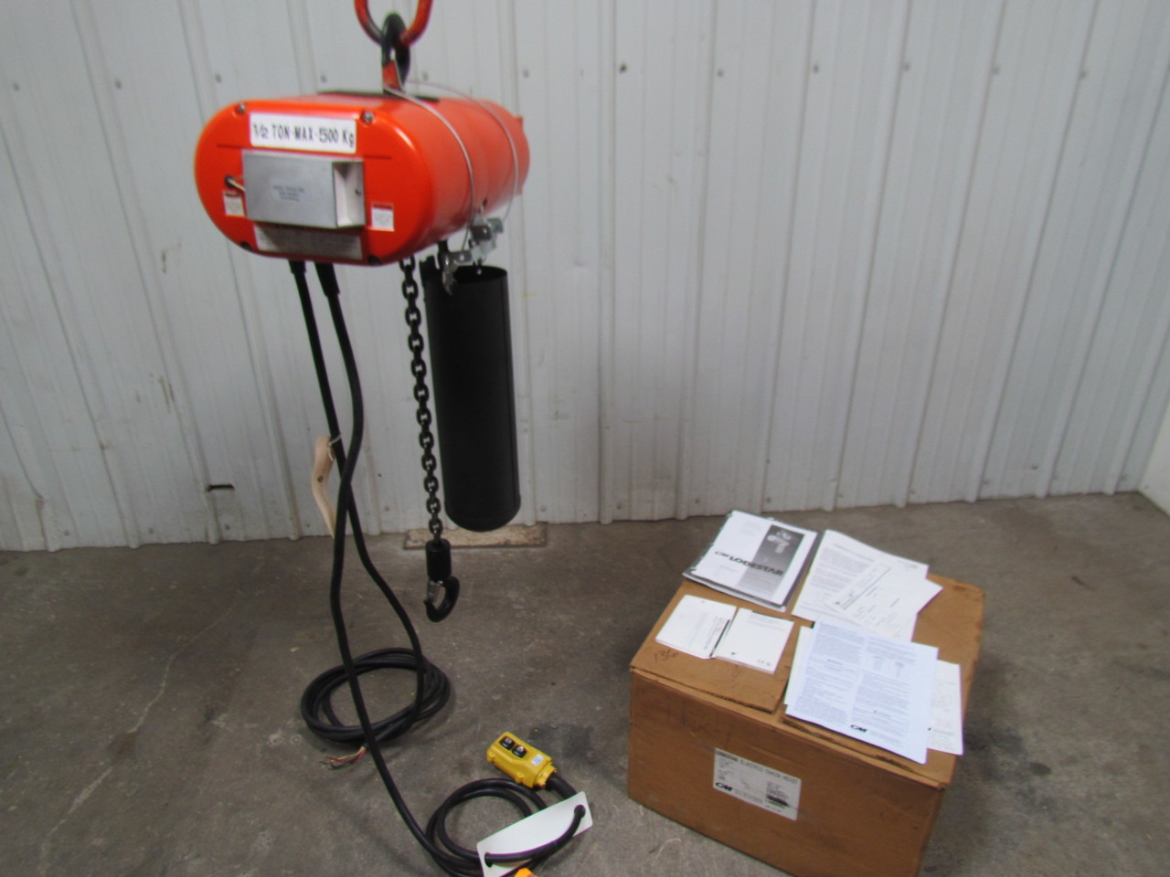 cm lodestar jj 1 2 ton 460v 3ph electric chain hoist 5 On cm lodestar 1 ton motor