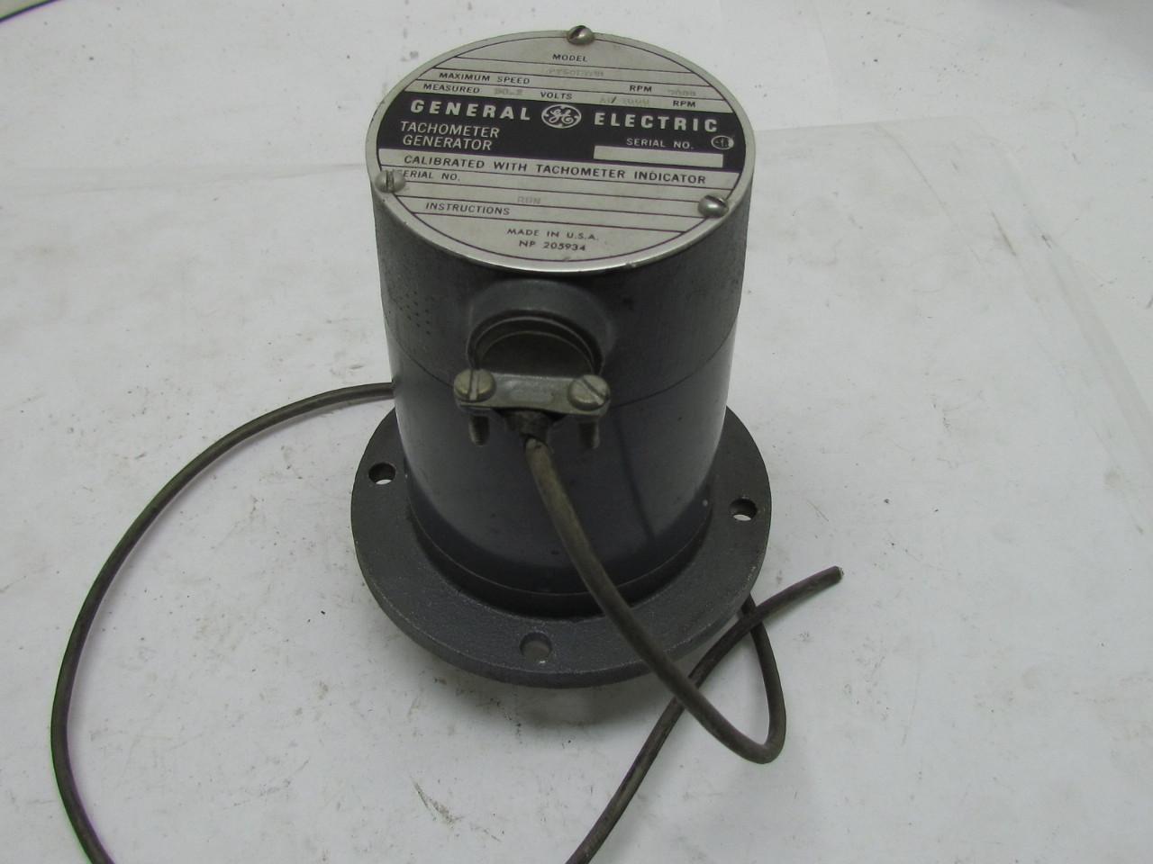 general electric tachometer wiring diagram    general       electric    5py59ey2b    tachometer    generator w 24xlmpb     general       electric    5py59ey2b    tachometer    generator w 24xlmpb