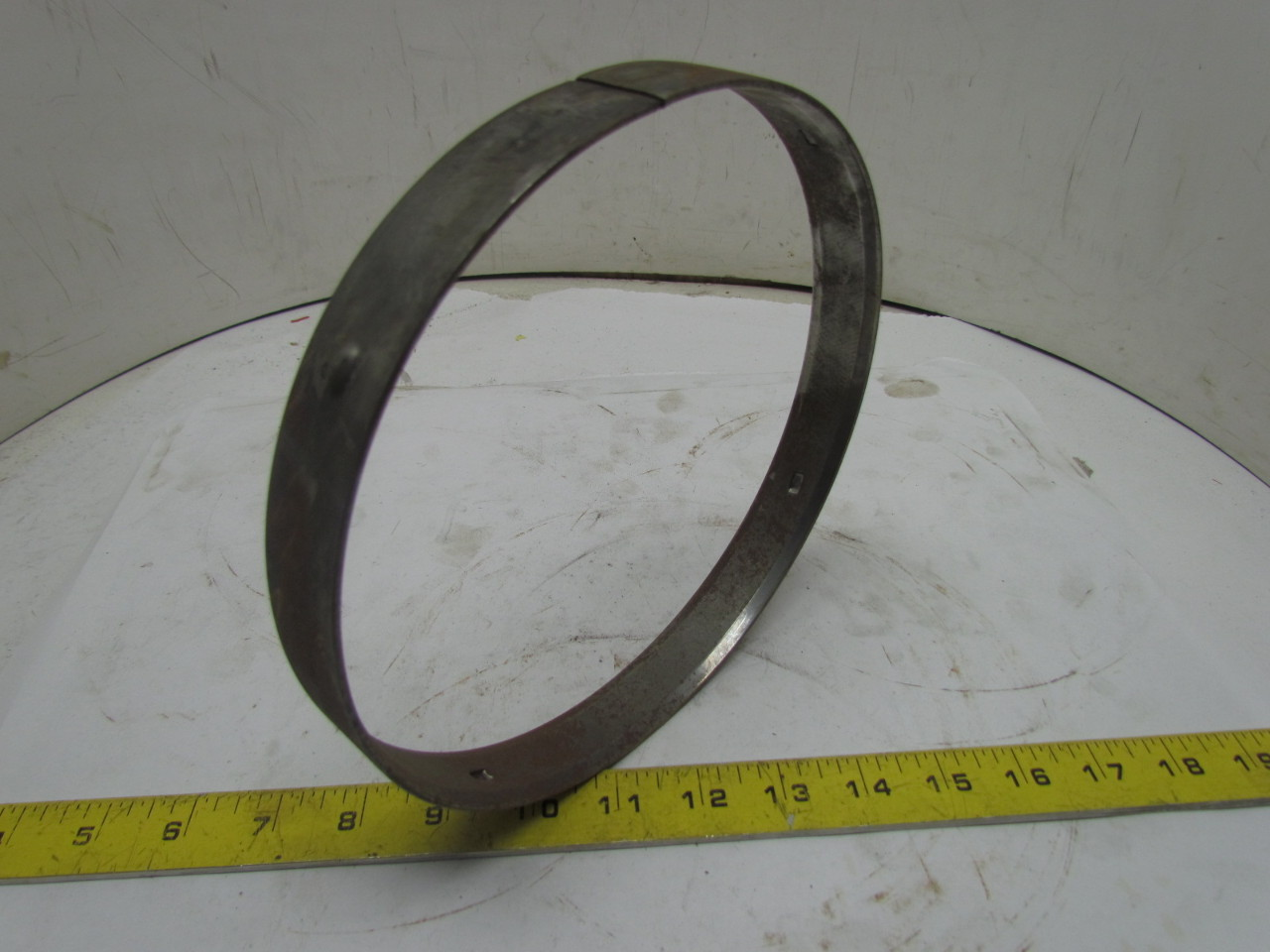 Backing rings for welding inch std pipe joints butt
