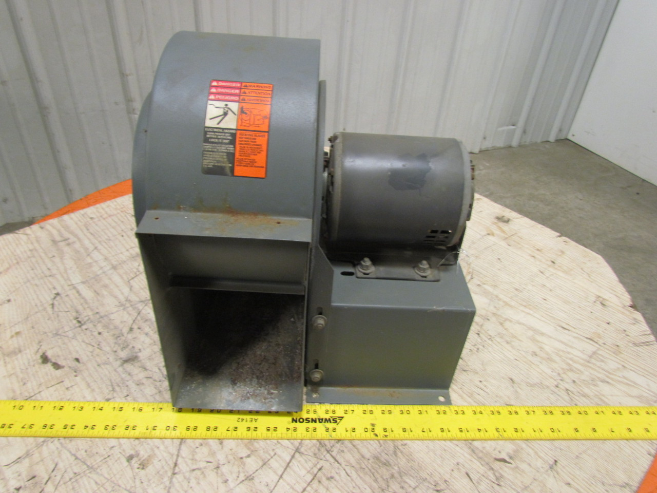 Direct Drive Blower : Dayton c direct drive blower quot wheel k g hp