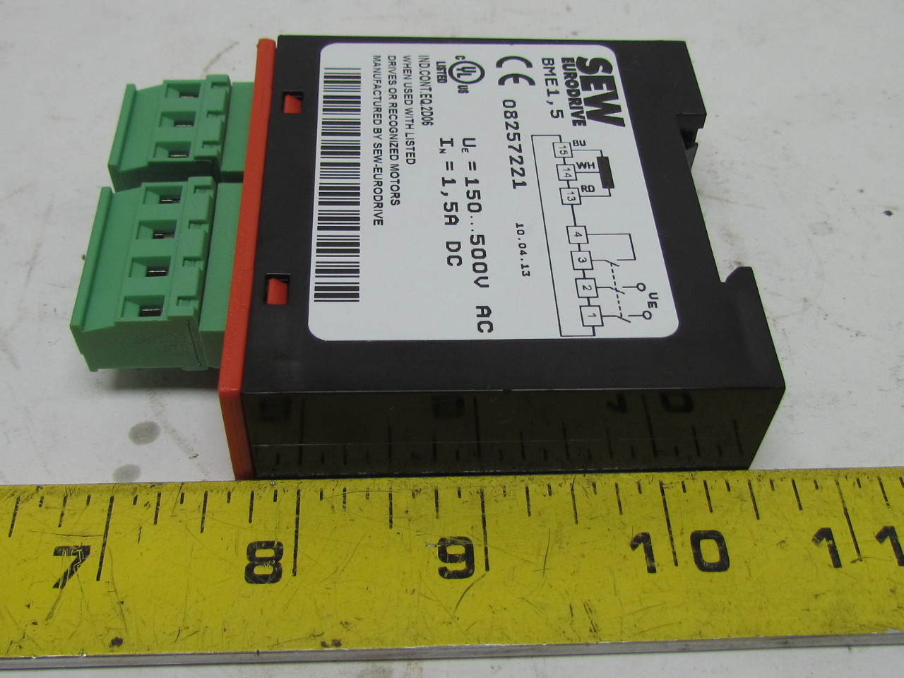 sew eurodrive 08257221 brake rectifier bme 1 5 500vac new ebay Eurodrive Wiring Diagrams sew eurodrive 08257221 brake rectifier bme 1 5 500vac new sew eurodrive wiring diagrams