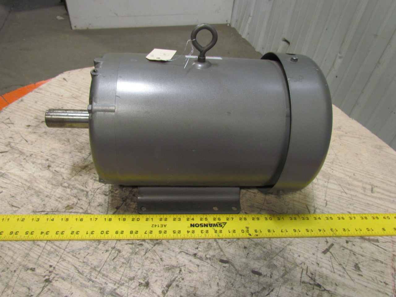 Baldor m1709t 3 phase ac electric motor 1725 850 rpm 460v for 7 5 hp electric motor 3 phase