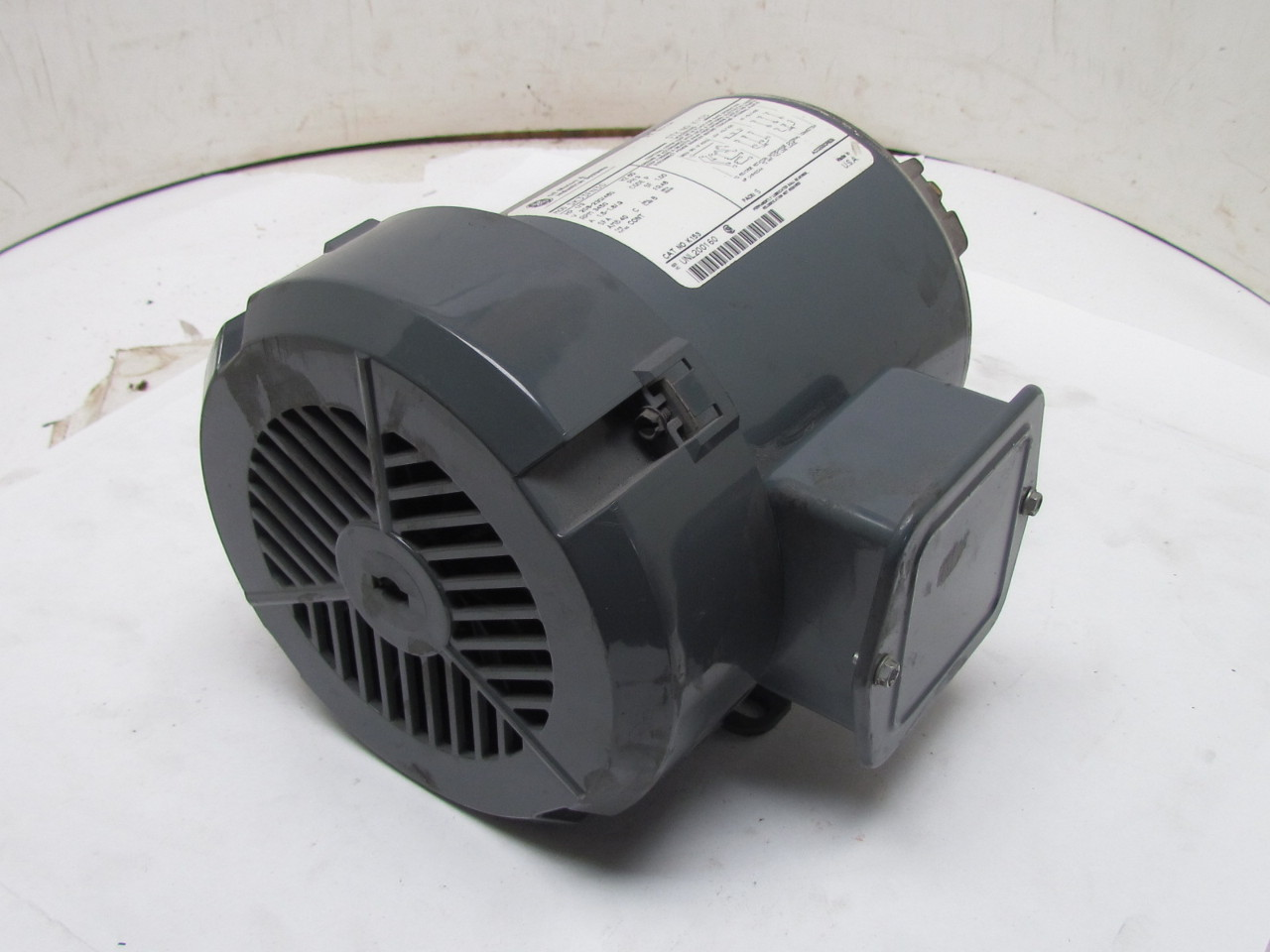 Ge 5k33fn30 3ph Ac Electric Motor 1 3hp 3450 Rpm 208 230