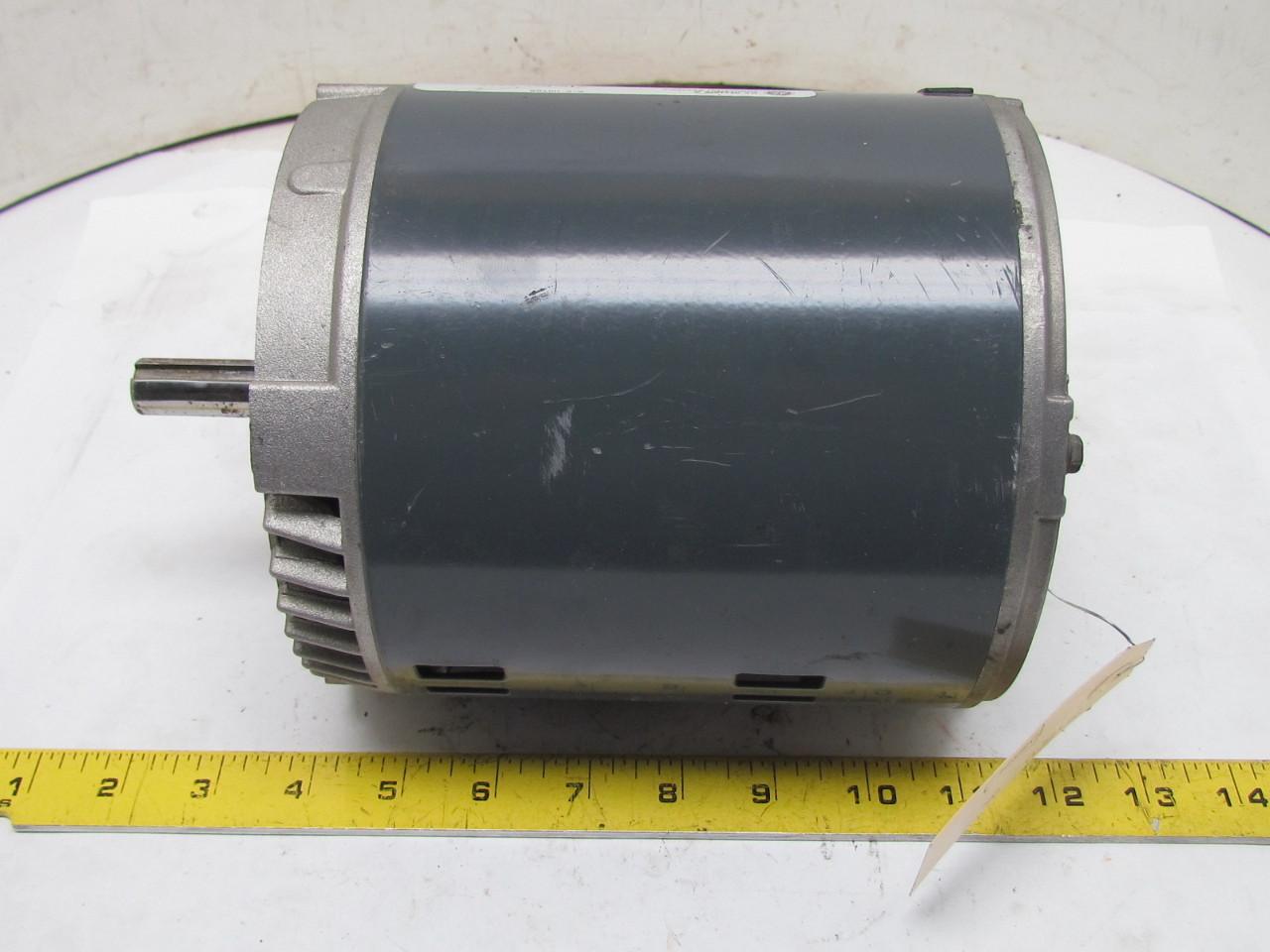 General Electric 5k42hn4127 3ph Ac Motor 1 2hp 1725 Rpm