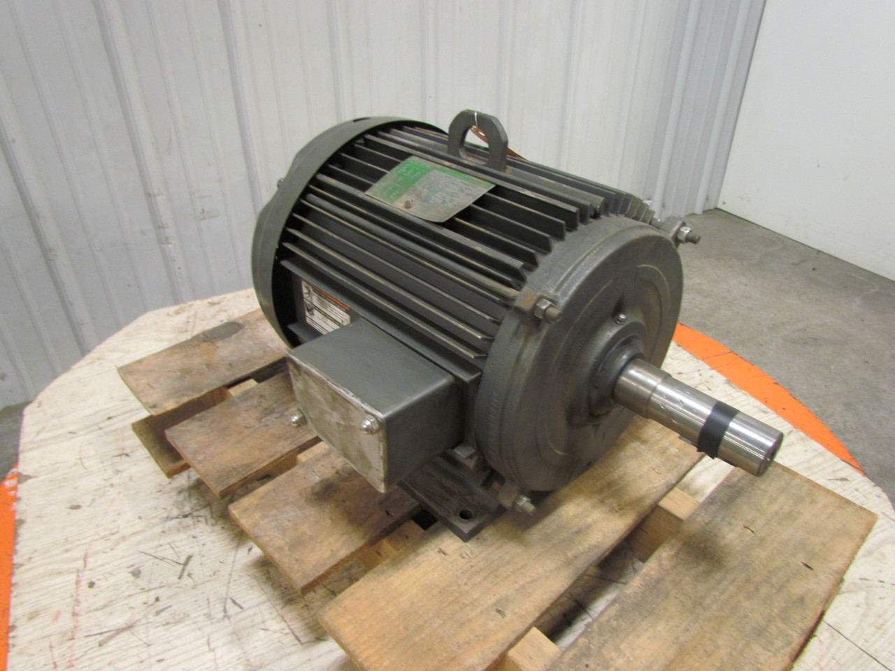 Lincoln Electric Tf4366 3ph Ac Motor 7 5hp 870 Rpm 230