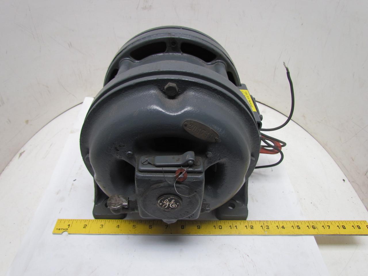 Ge general electric 3 phase 1hp 110v vintage motor 1720 for 1 4 hp 3 phase motor