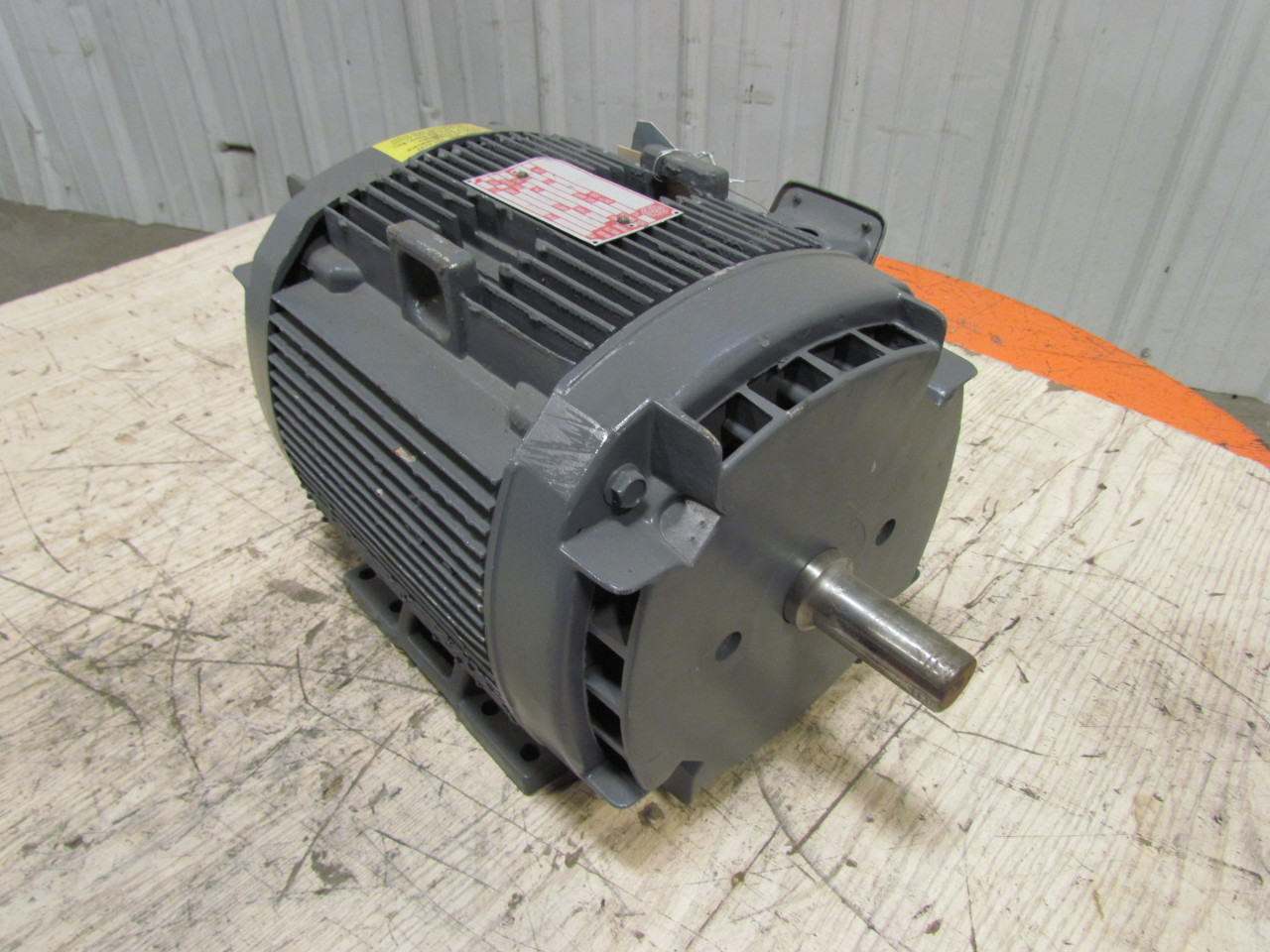 Ge general electric 3ph ac motor 5hp 1750 rpm 230 460v 1 1 for General electric ac motor thermally protected