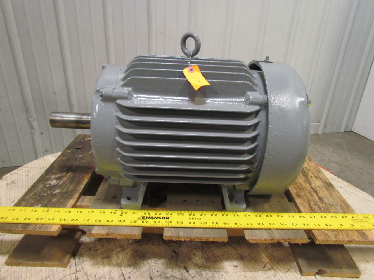 baldor em2334t 20 hp super e electric motor 230 460v 3ph