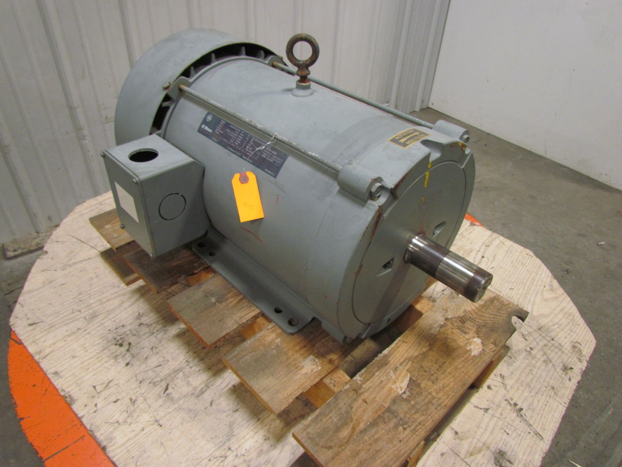 General Electric 5k286bd205b 30 Hp Electric Motor 230 460v