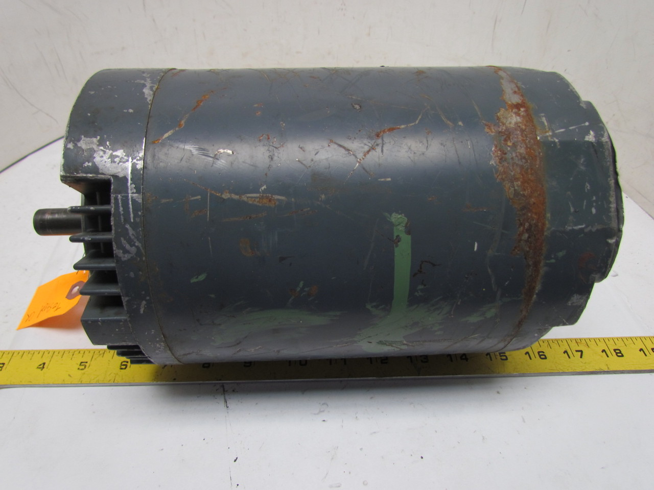 Westinghouse 311p134a 1 2 hp electric motor 230 460v 3ph for 2 rpm electric motor