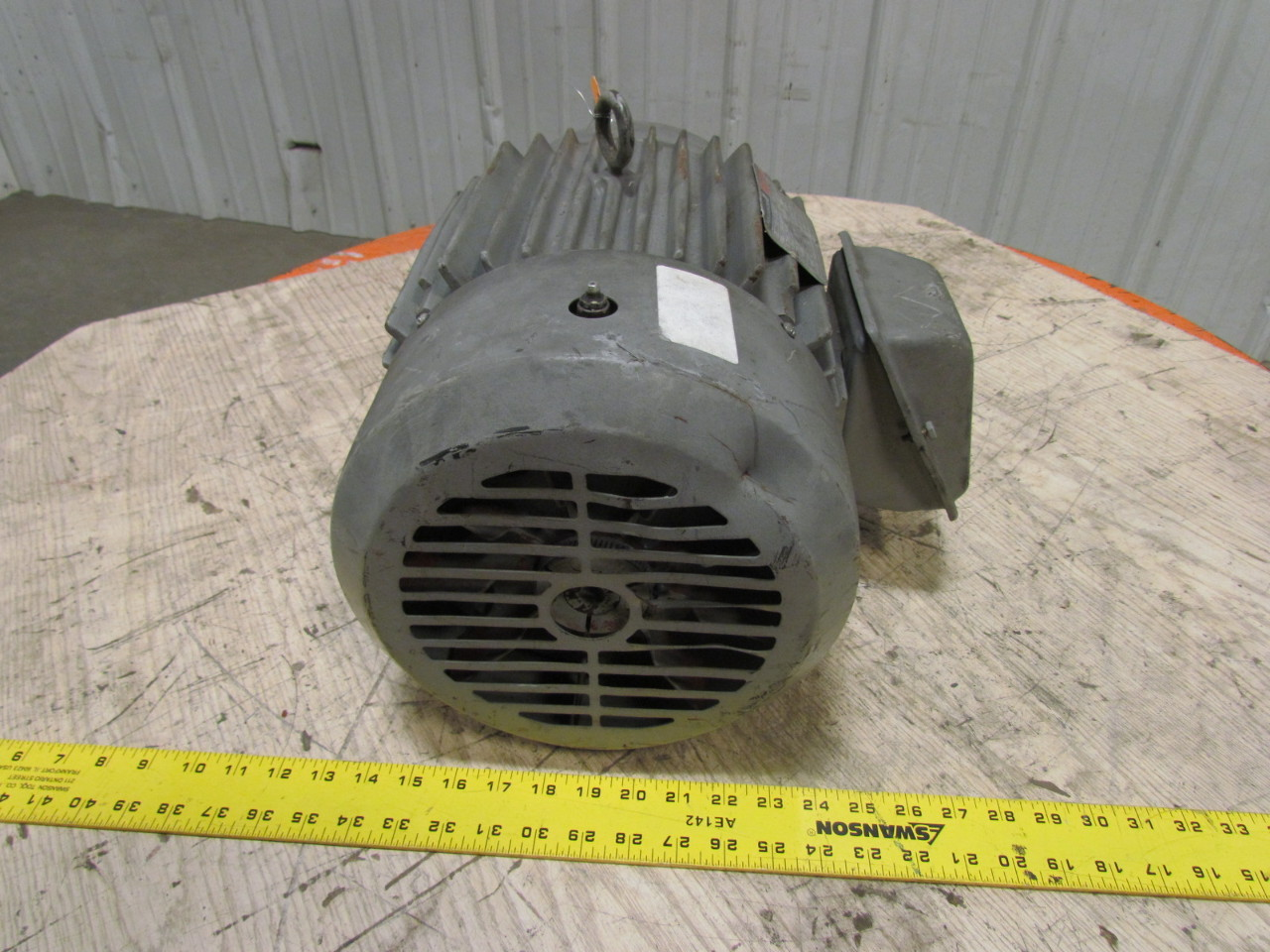 Reliance p21g312c 10 hp electric motor 460v 3ph 1755 rpm for Reliance dc motor frame size chart