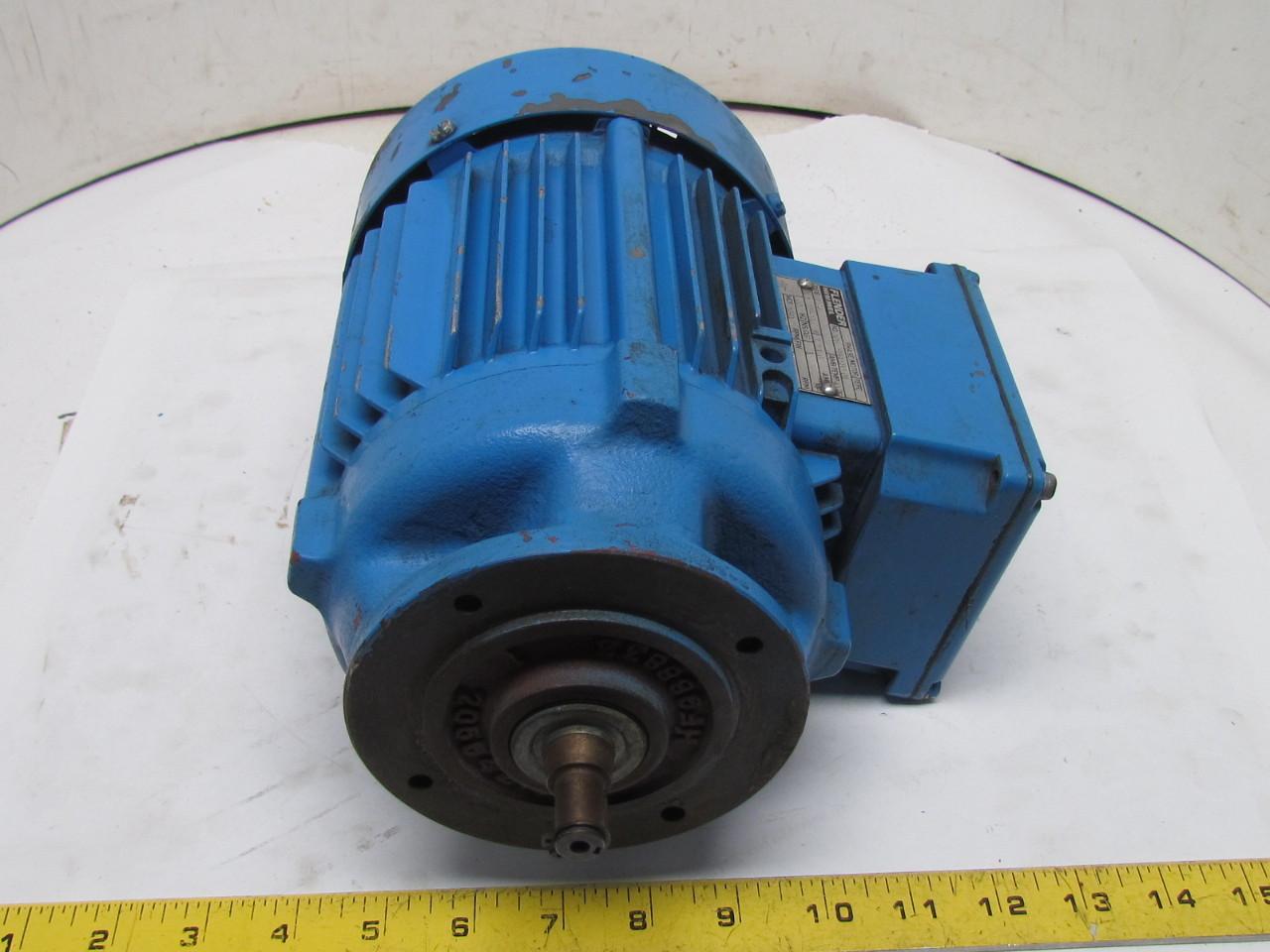 Flender himmel m2c4 3 phase ac motor 1hp 1690 rpm 208 230 for Flender himmel motors usa