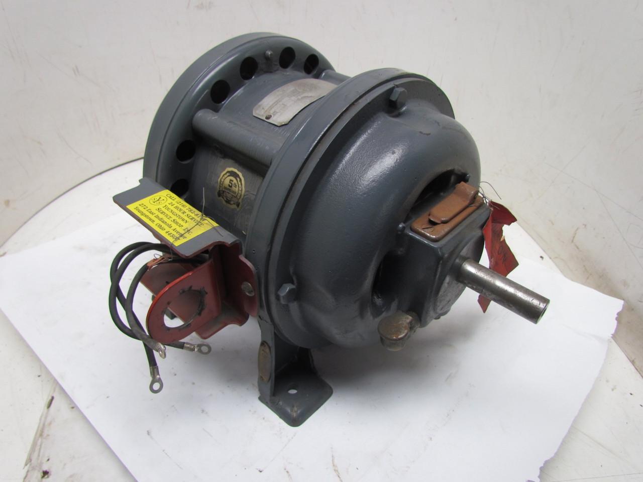 General electric 5k204a1 3ph 1hp 110v vintage motor 1720 for General electric motor company