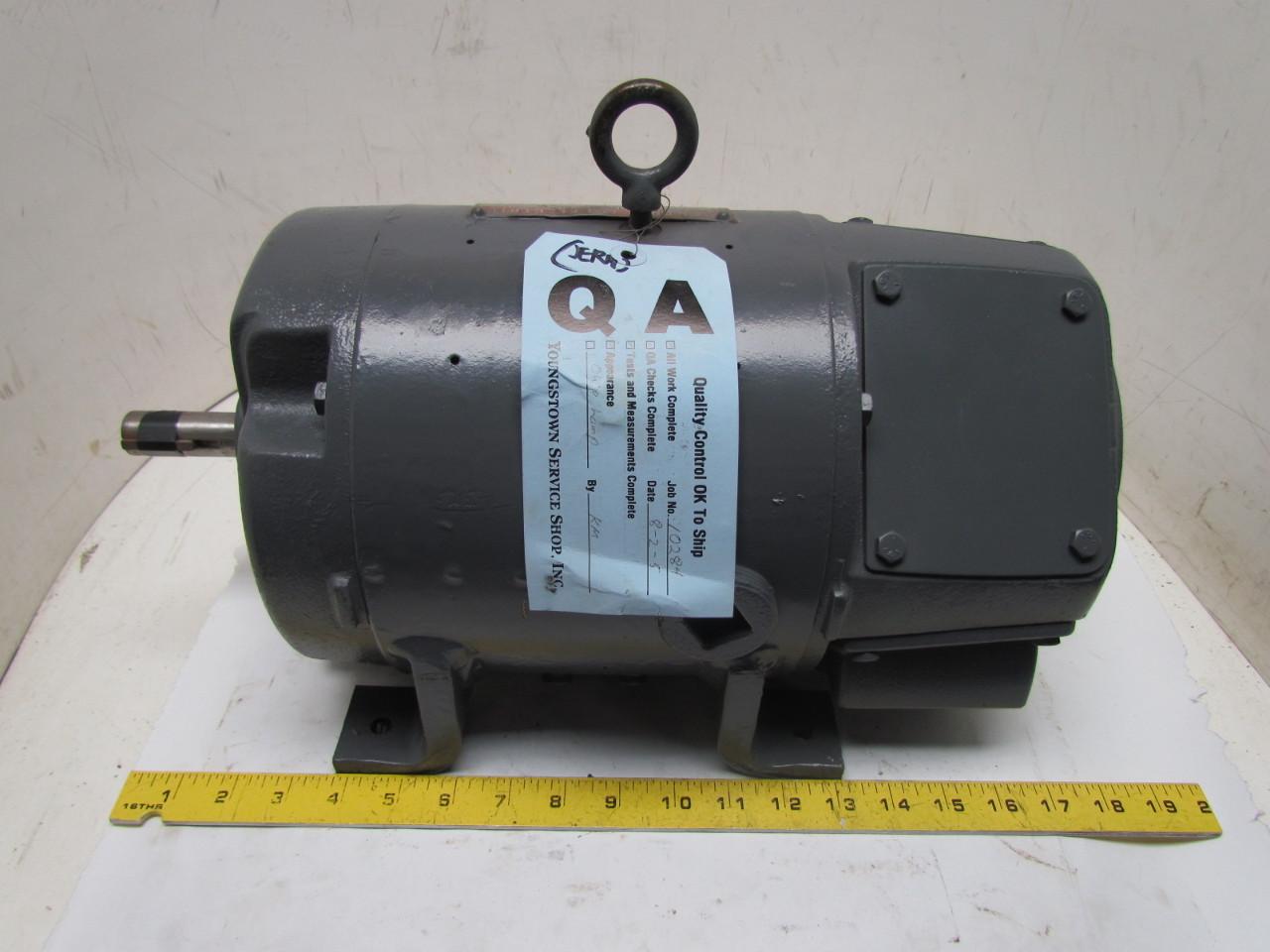 General electric 5cd187e134c kinamatic 1 5hp 350v dc motor for General electric dc motors