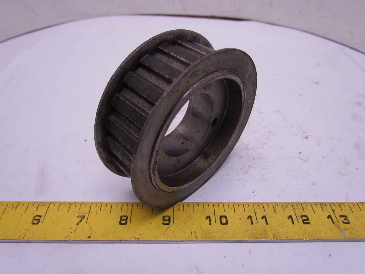 browning 22hh100 timing belt pulley 1 2 quot pitch 22 teeth qt