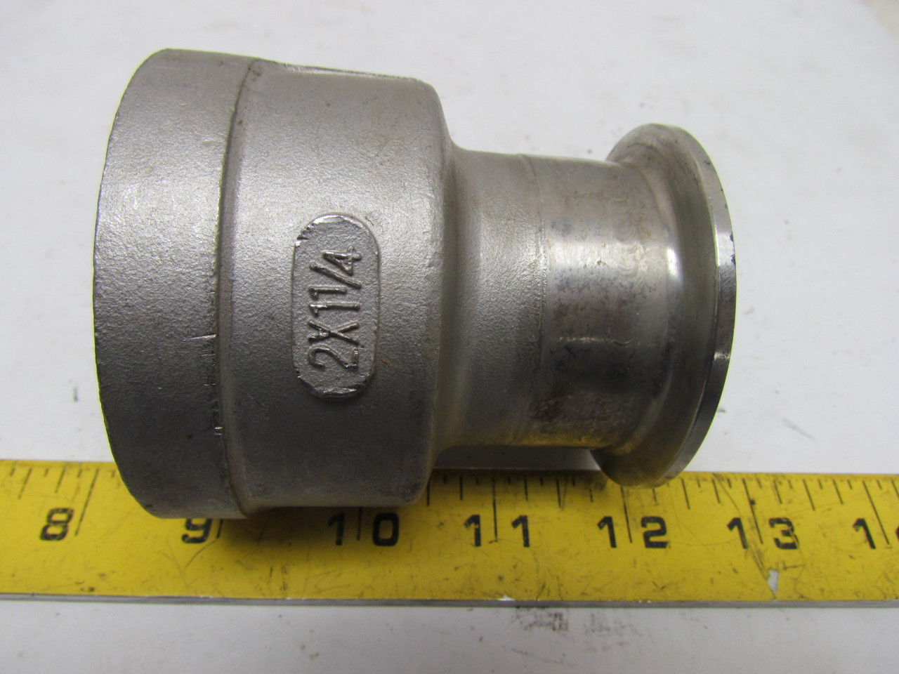 Tri clover tc quot clamp fnpt adapter fitting